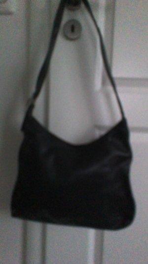 L.credi Sac porté épaule noir cuir
