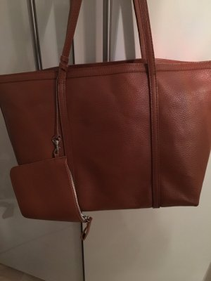 Leder Shopper von Made in italy