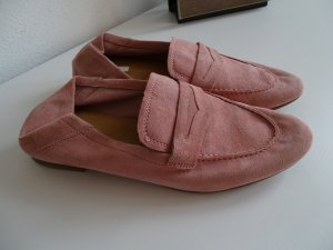 H&M Slip-on Shoes bright red leather