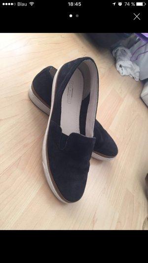 Leder Slippers, Größe 40