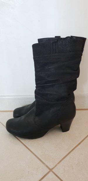 Gabor Comfort Slappe laarzen zwart