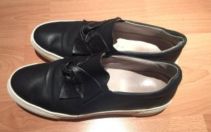 Gabor Instapsneakers zwart-wit Leer
