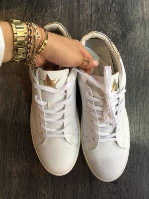Hip Shoe Style Basket à lacet blanc