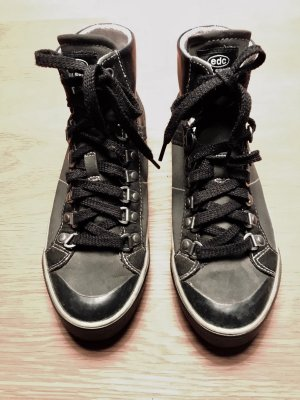 huge discount c7997 005ae Leder Sneaker von Esprit schwarz