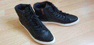 Marco Tozzi Sneaker alta nero
