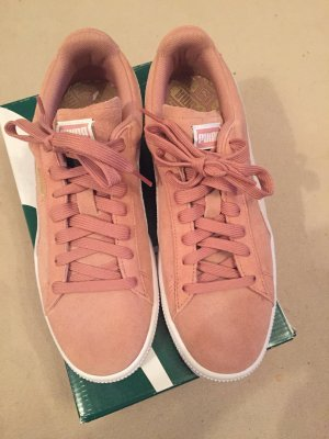 Puma Lace-Up Sneaker dusky pink