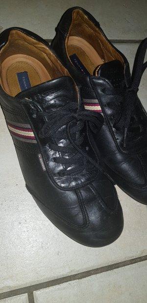 Leder-Sneaker von Tommy Hilfiger
