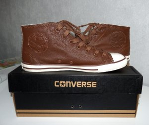 Leder Sneakers CONVERSE All Star Chuck Taylor Dainty Mid 37,5 USA 6,5 UK 4,5