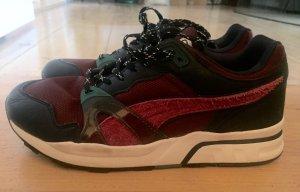 Leder Sneakers, Multicolor  Neuwertig