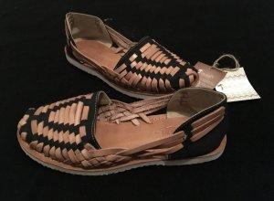 Comfortabele sandalen veelkleurig Leer