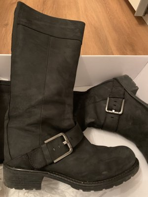 Clarks High Boots black