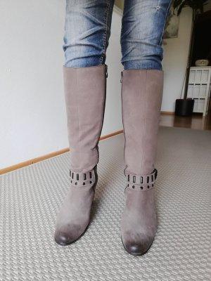 Leder -Stiefel Damen Gr. 40