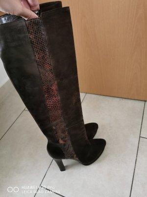 High Heel Boots brown-dark brown