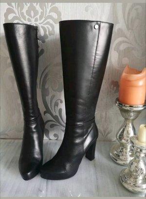 Leder Stiefel Größe 37