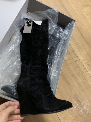 Leder Stiefel , neue mit Karton und Etikett