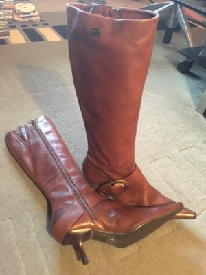 Leder Stiefel von Bufalo NEU