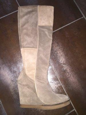 Leder Stiefel von BULLBOXER ~ Gr. 40 ~ mehrfarbig ~ 2 x getragen