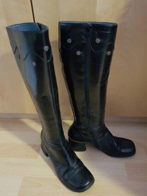 Leder Stiefel von Shellys in Gr.39, schwarz