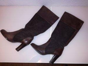 Leder Stiefel von Zara Gr.37