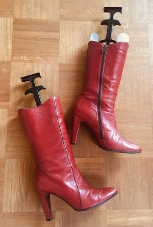 Alberto Fermani Heel Boots bordeaux