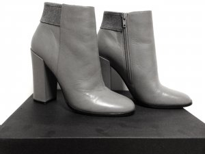 Another A Botines color plata Cuero