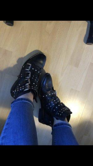 Leder stiefeletten/ boots