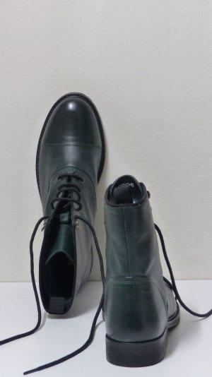 Akira Low boot vert foncé-noir cuir