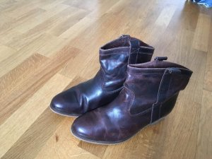 Flip*flop Booties brown leather