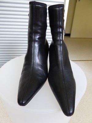 Leder Stiefeletten von Prada, Größe 37