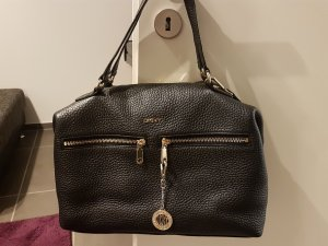 DKNY Shopper black-gold-colored