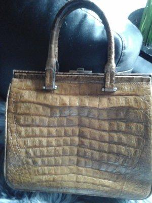 Leder Tasche in vintage style
