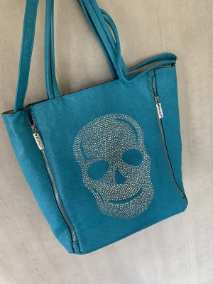 Leder Tasche mit Strass