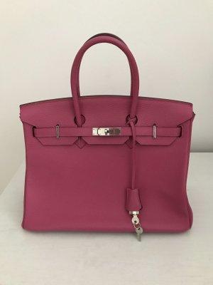 Leder Tasche pink