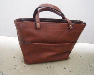 Leder Tasche vintage Retro