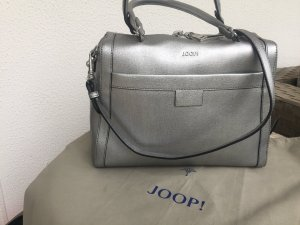 Joop! Bowling Bag silver-colored leather