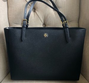 Tory Burch Shopper black-gold-colored
