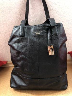 Leder tote Bag