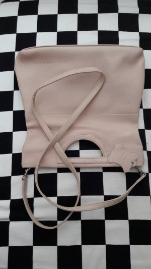 Leder Umhänge Tasche , auch als Clutch zu tragen