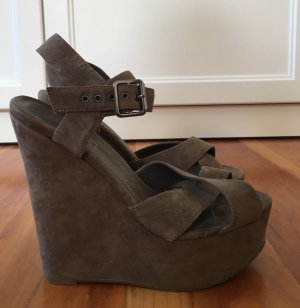 Leder Wedges