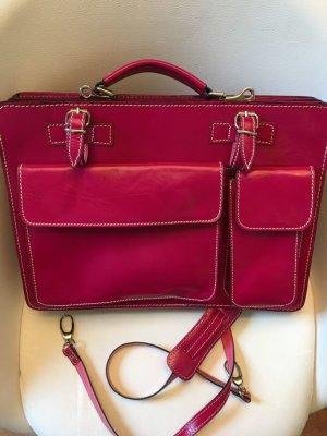 Lederaktentasche aus Italien