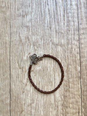 Bijou Brigitte Leather Bracelet black brown