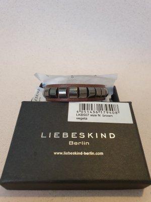Liebeskind Berlin Leather Bracelet brown