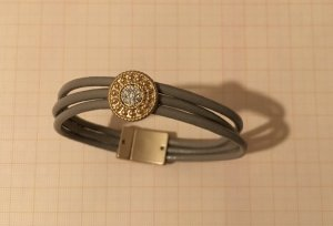 Bracelet multicolore cuir