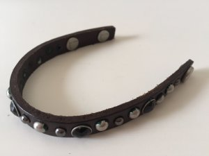 Liebeskind Leather Bracelet dark brown-brown