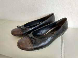 Paul Green Ballerines noir-brun cuir