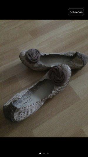 Lederballerinas von Carnaby (London style)
