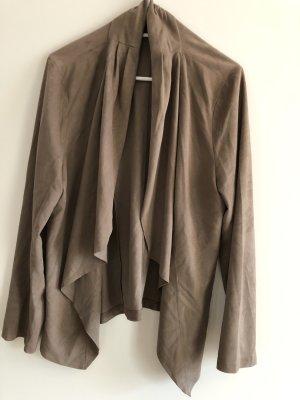Leather Blazer camel