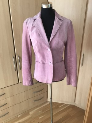 More & More Leather Blazer pink leather