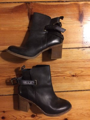 Zign Low boot noir cuir