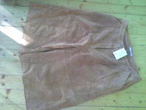 asos curve Culotte Skirt light brown